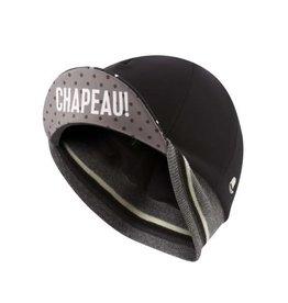 Chapeau! Chapeau!, Ladies Winter Cap, Polka Dot, Black/White, One Size