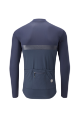 Chapeau! Chapeau! Mens Club Long Sleeve Thermal Jersey (Deep Ocean)