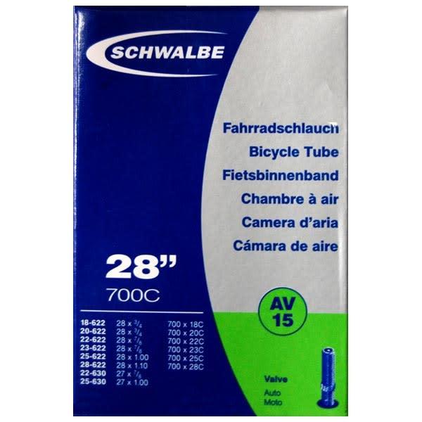 """Schwalbe Schwalbe 28""""x700 Valve tube AV 15"""