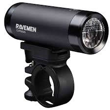 Ravemen CR500 USB Rechargeable DuaLens Front Light with Remote in Matt/Gloss Black (500 Lumens)