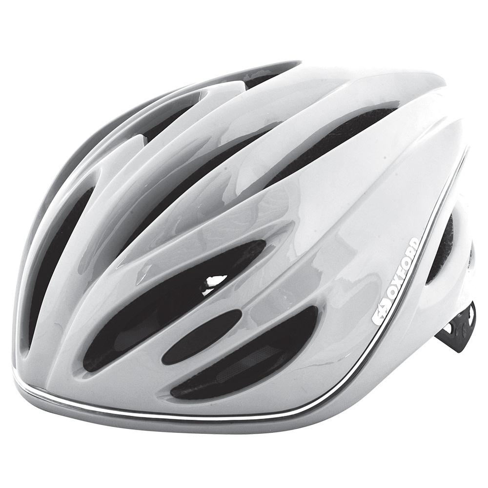 oxford Oxford Metro-Glo Helmet White Large (56-62cm)