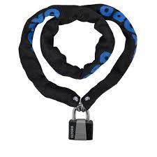 oxford Oxford Chain 6 Chain & Padlock 0.9m x 6mm