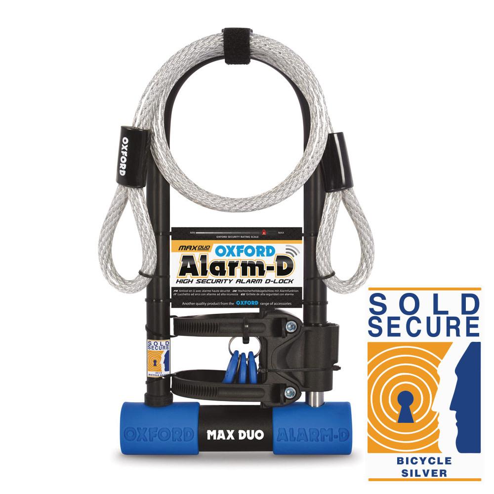 Oxford Alarm-D Maxi Duo 320mm x 173mm