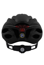 Oxford Metro-Glo Helmet Black Medium (52-656cm)
