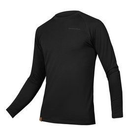 Endura BAABAA BLEND L/S BASE, BK: XL