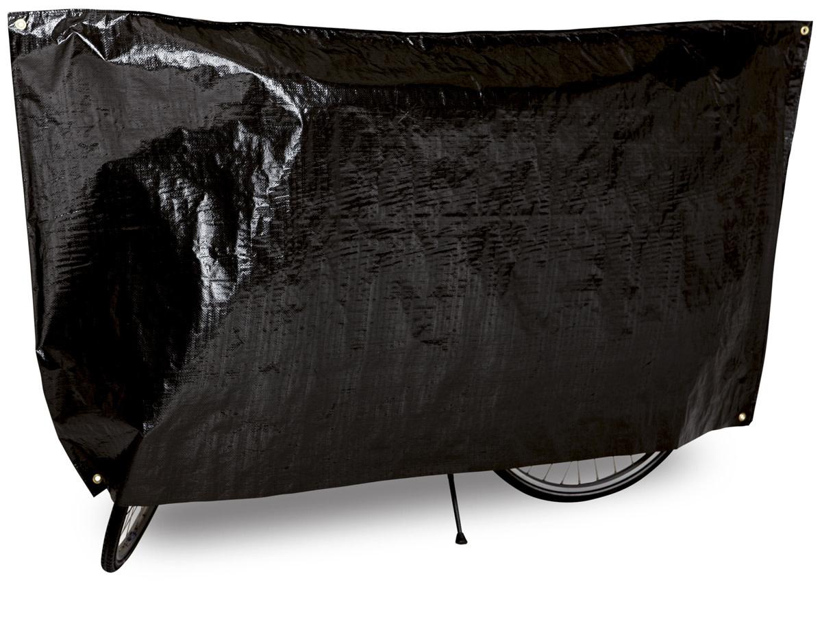 "VK International VK ""Classic"" Waterproof Single Bicycle Cover Incl. 5m Cord - Black"