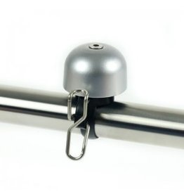 Widek Paperclip Mini Bell (carded) - Silver