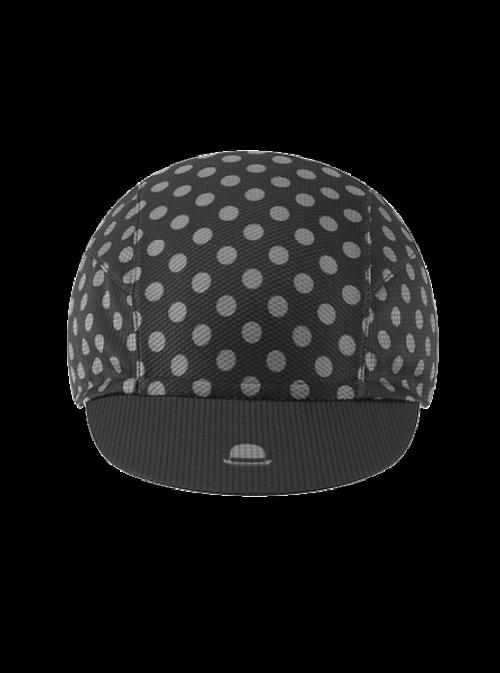 VeloBrands Chapeau!, Lightweight Cap Polka Dot, Black