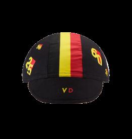 Chapeau! Chapeau! Cotton Cap Leon Van Daele Black S/M