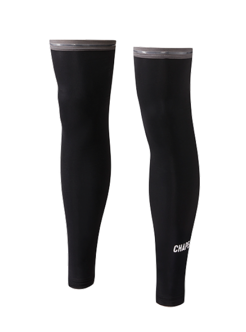 Chapeau! Chapeau! Men's Winter Leg Warmers Technical - Black L/XL