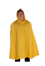 CAPE ADULT YELLOW WITH HOOD UNIVERSAL