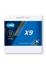 KMC KMC X9 Speed Silver/Gray 114L