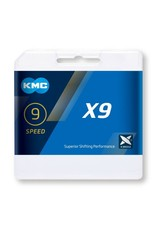 KMC X9 Speed Silver/Gray 114L