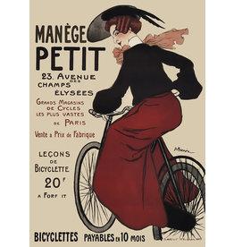 Manege Petit bicycle Vintage Keyring & photo