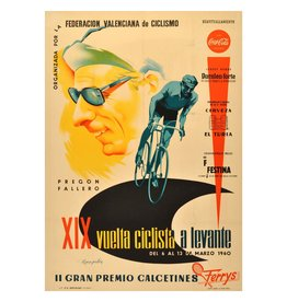 XIX Vuelta Ciclista Vintage / Retro Keyring & Photo