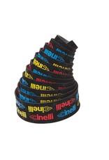 Cinelli Cinelli Logo Velvet Bar Tape Yellow/ Red/ Blue