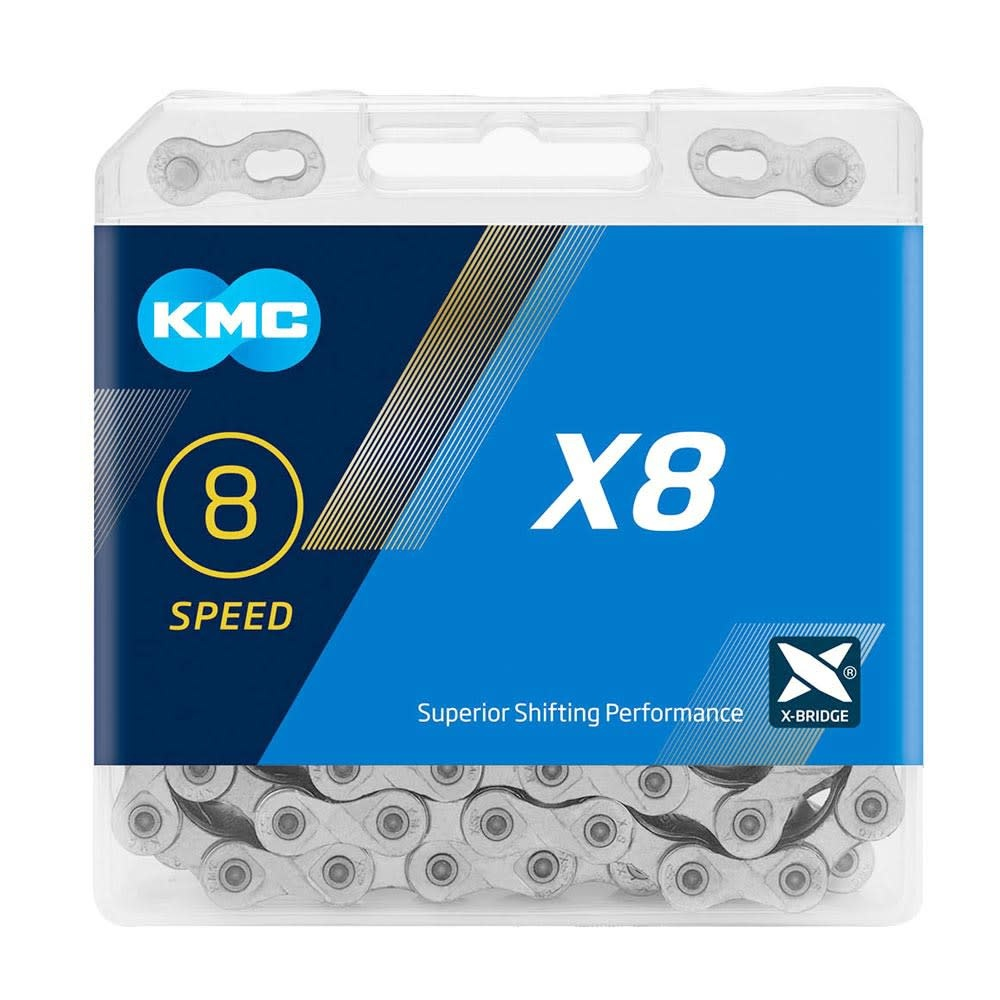 KMC KMC X8 8 Sp 114 L 1/2''x3/32''