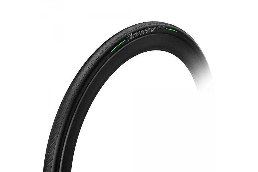 Pirelli Pirelli, Cinturato Velo, Tire, 700x24C, Folding, Tubeless Ready, Smartnet Silica, 66TPI, Black