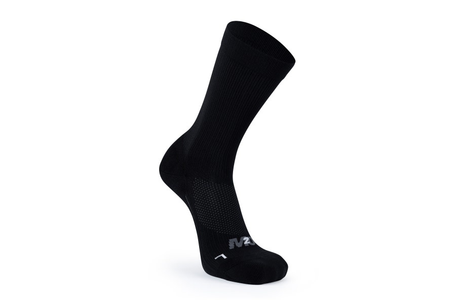 M2O Everyday crew Compression socks black / small