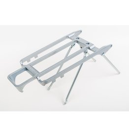 Brompton Rack Rack and Stays 6mm holes Silver