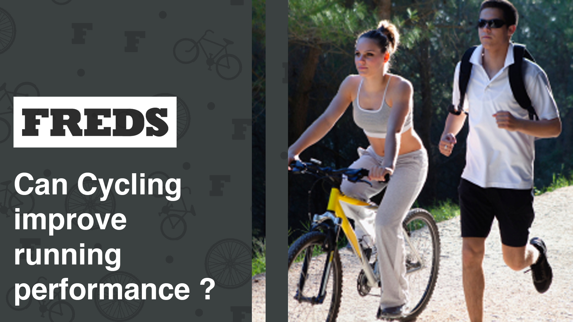 Can Cycling improve running performance ?