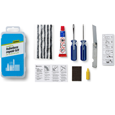 Weldtite Tubeless repair kit - For External use