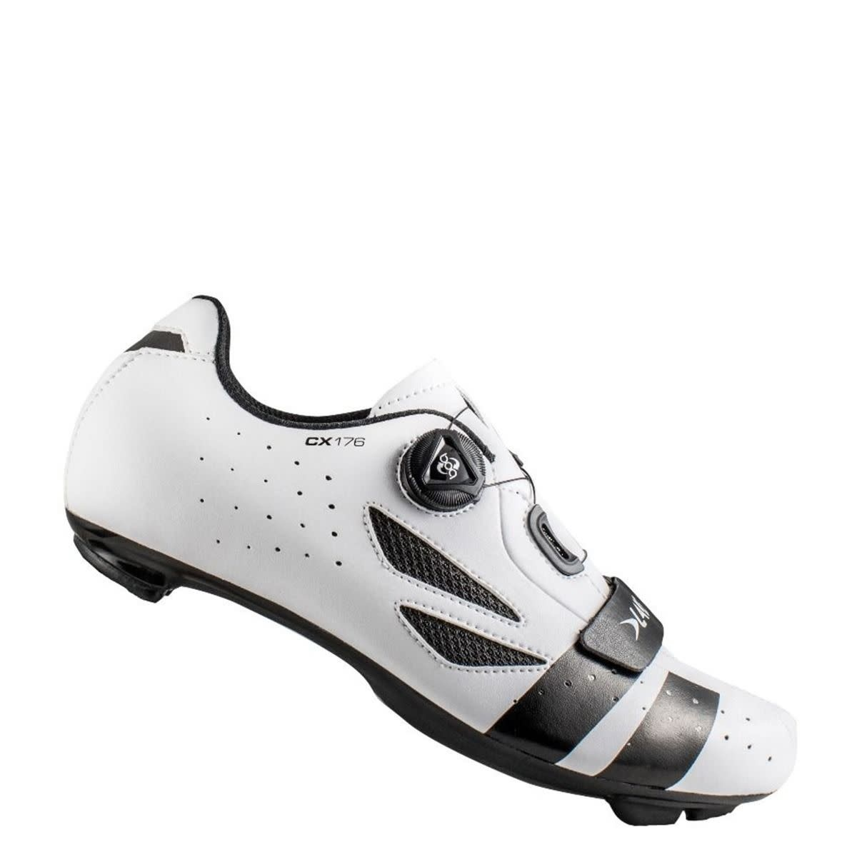 LAKE Lake CX176 White/Black 43 Cycling Shoes