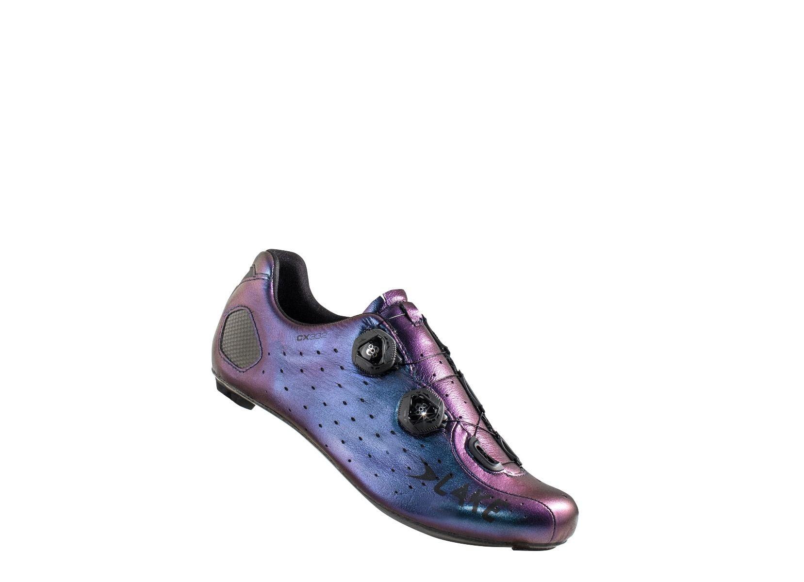 LAKE Lake CX332 Chameleon Blue 44 Cycling Shoes