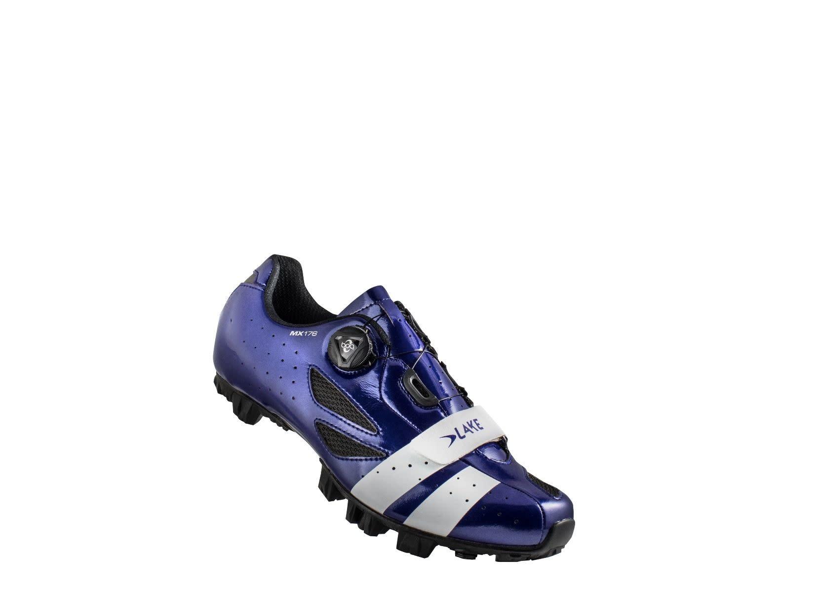 LAKE Lake MX176 Navy Blue/White 41 Cycling Shoes