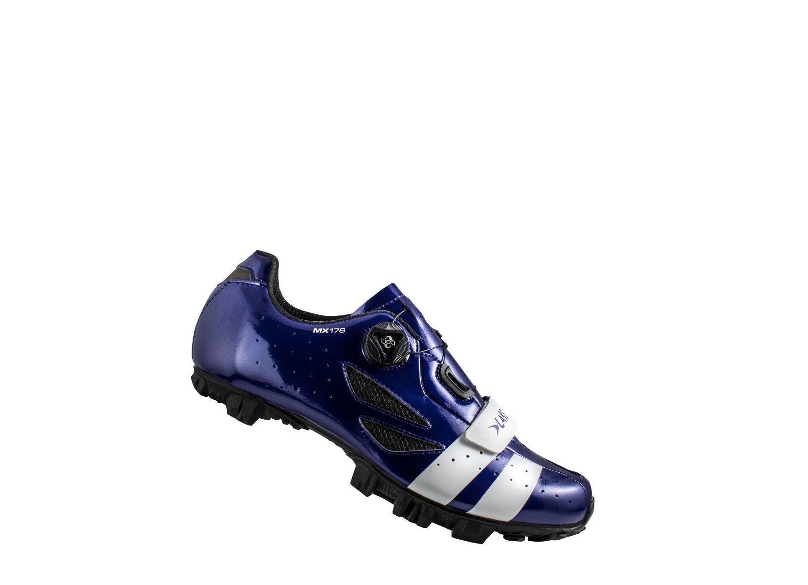 LAKE Lake CX176 Navy Blue/White 44 Cycling Shoes