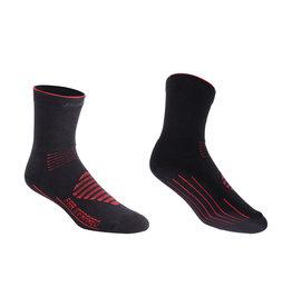 BBB BSO-16 - FIRFeet Socks (Black & Red)