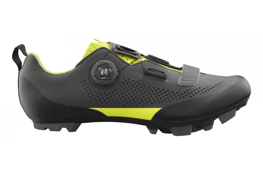 Fizik Fizik X5 Terra Grey/Yellow Shoes 43