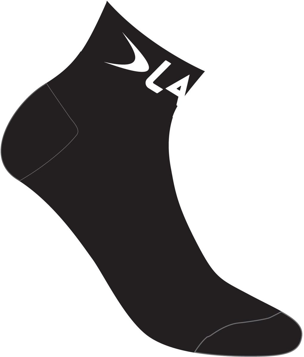 LAKE Lake Coolmax Socks Black  39-41