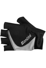 Santini SANTINI STUDIO MICRO MESH GEL MITT: BLACK XS/S