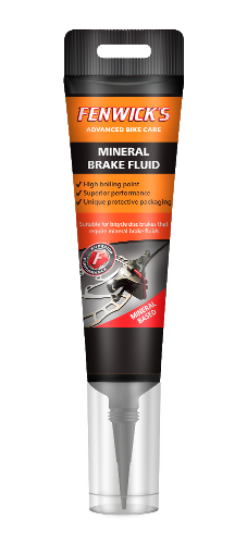 FENWICK'S MINERAL BRAKE FLUID 80ML TUBE:  80ML