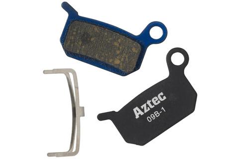 Organic disc brake pads for Formula B4 callipers
