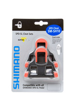 Shimano SM-SH10 SPD SL Cleat Set Red