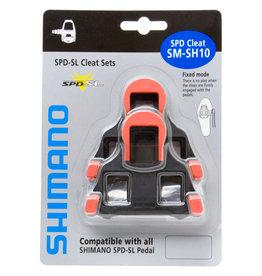 Shimano SM-SH10 SPD SL Cleat Set Red