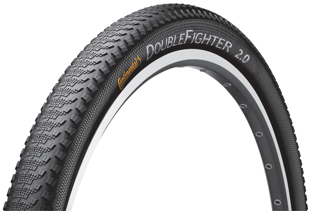 Continental Continental Double Fighter 3 29x2.0 Black Rigid
