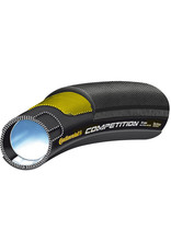 """Continental Competition Vectran 26"""" x 22mm Black Chili Tubular Tyre Black 26 inch x 22 mm"""