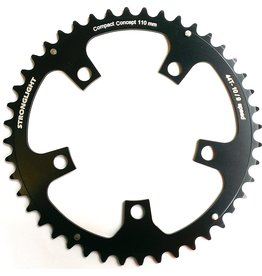 StrongLight 5-Arm/110mm Chainring: 52T Black