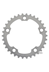 FC-5750-S chainring 34T, silver Silver 34 teeth