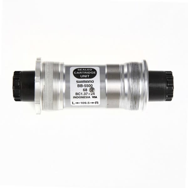 BB-5500 105 bottom bracket 70 - 118 mm Silver/Black IT 70 - 118 mm