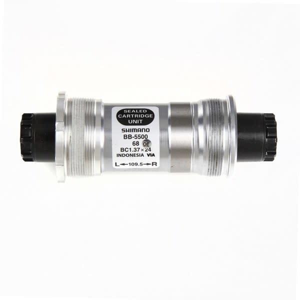 BB-5500 105 bottom bracket 68 - 118 mm Silver/Black 68 - 118 mm