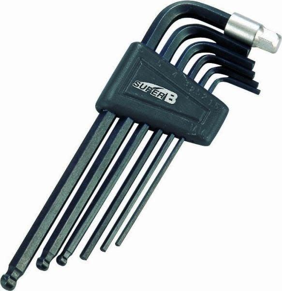 Super B TB-7715 Economic Hex Wrench Set 2/2.5/3/4/5/6/8mm