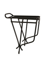 Oxford Alloy Luggage Rack - Black