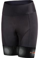 Funkier Funkier Covina Ladies 6 Panel Pro Shorts in Black XL