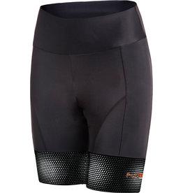 Funkier Covina Ladies 6 Panel Pro Shorts in Black XL
