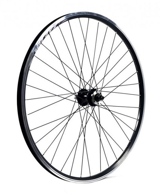 KX wheels KX Hybrid 700C Doublewall Q/R Wheel Disc Brake in Black (Front)