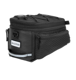 Lotus SH-506D Commuter Expandable Rack Top Bag - 6.8 Litres / 8.7 Litres
